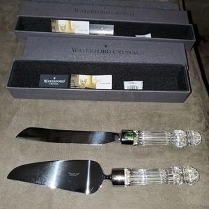 Waterford Crystal Bridal Knife/ Server Set
